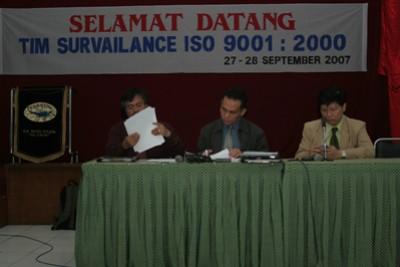 AUDIT MUTU ISO 9001:2000