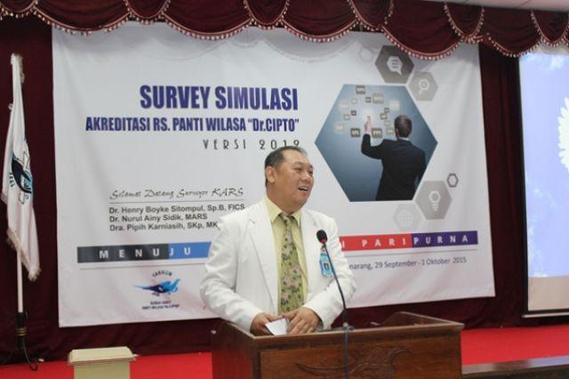 SURVEY SIMULASI AKREDITASI RUMAH SAKIT VERSI 2012