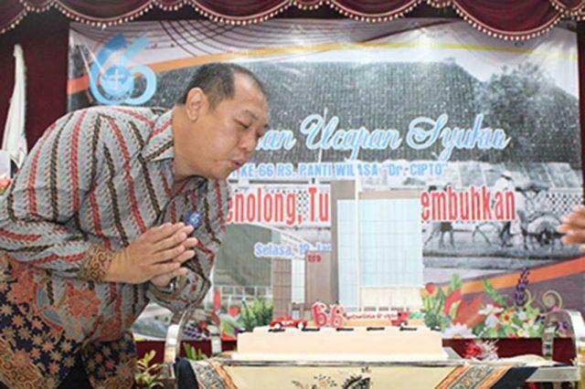 RS PANTI WILASA DR. CIPTO 66 TAHUN MELANGKAH